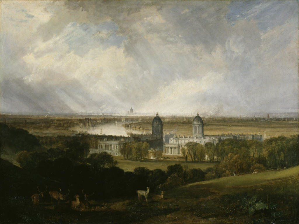 London from Greenwich Park exhibited 1809 Joseph Mallord William Turner 1775-1851 Accepted by the nation as part of the Turner Bequest 1856 http://www.tate.org.uk/art/work/N00483